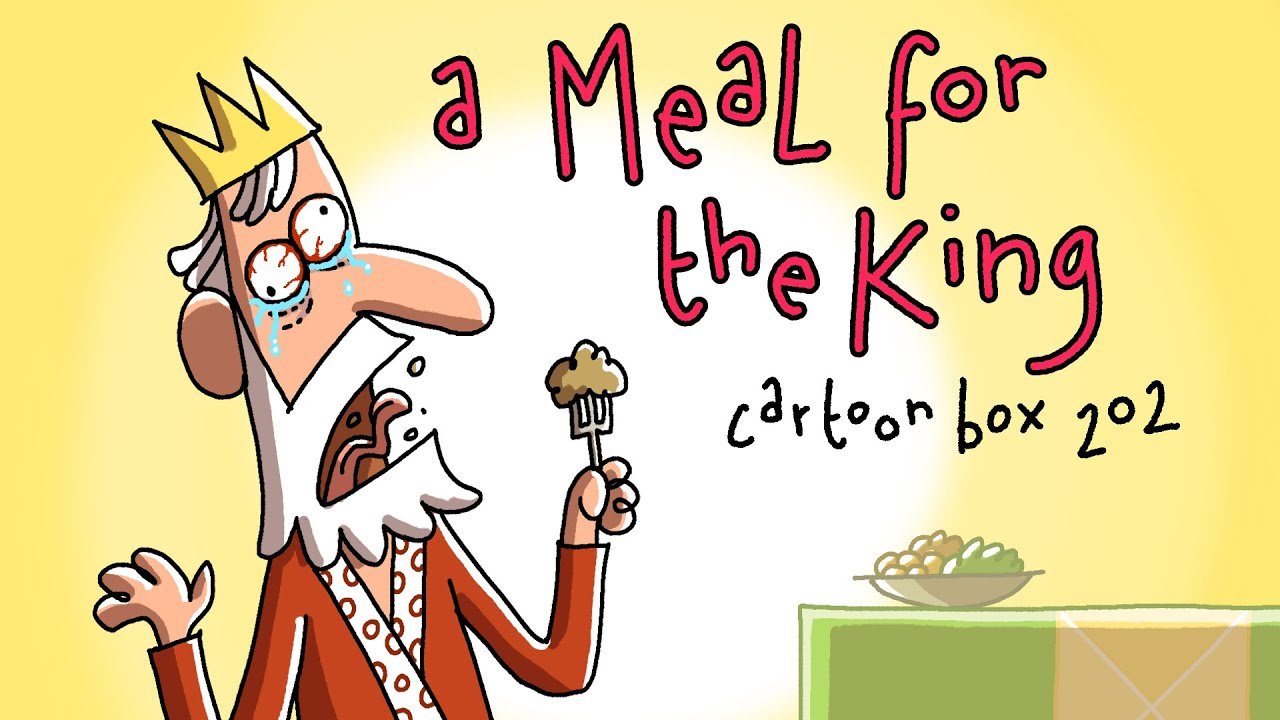A Meal For The King   Cartoon Box 202   by FRAME ORDER   Hilarious dark cartoons