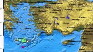 Earthquake Report June 15, 2013