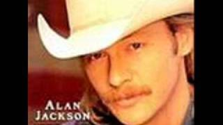 Alan Jackson Gone Crazy with lyrics