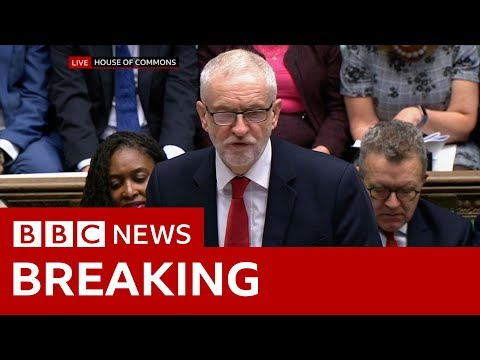 Labour leader Jeremy Corbyn: Don't give PM a blank cheque - BBC News