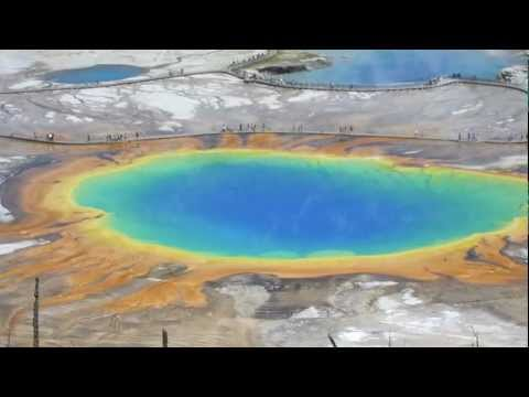 Some thermal Features in Yellowstone National Park