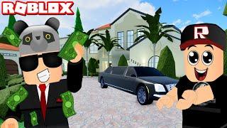Zengin Olduk Ev Aldık!! Okul Macerası - Panda ile Roblox Robloxian High School