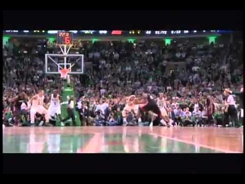 LeBron James turnover in fourth quarter: Boston Celtics vs. Miami Heat Game 4