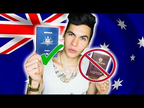 OFICIALMENTE AUSTRALIANO | Renuncié a ser colombiano | + SKETCH