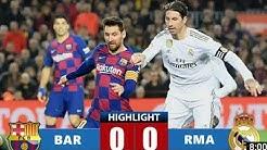 BARCELONA vs REAL MADRID / EL CLASICO 2019 -2020
