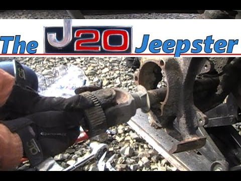 How to Replace Axle u-joint with simple tools