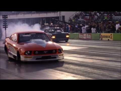 Street Outlaws Daddy Dave vs Kayla Morton at American Outlaws Live