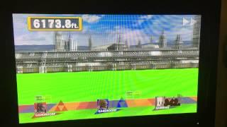 Smash Wii U Home Run Contest WORLD RECORD 27006.2 ft.
