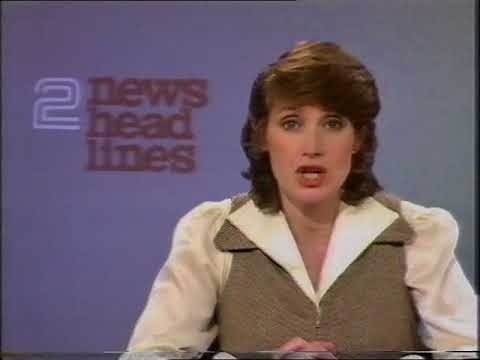 BBC2: Mid Evening News / Newsnight (intro/outro) / continuity - Monday 30th March 1981