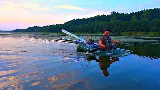 Рыбалка с ночевкой! С боковым кивком на речку Южный Буг за сазанами! Попали в грозу! +КОНКУРС!