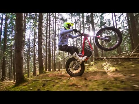 Electric Trials Fun with Fabio Wibmer moto videos