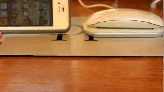 Mobee Magic Mouse Charger Unboxing And Setup