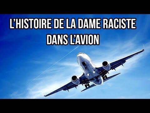 La dame raciste dans l 39 avion un sourire d 39 espoir 2 amr - Nuit insolite dans un avion ...