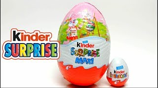 Giant Kinder Surprise Maxi Toy Egg