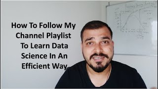 Gambar cover How To Follow My Channel Playlist To Learn Data Science Efficiently