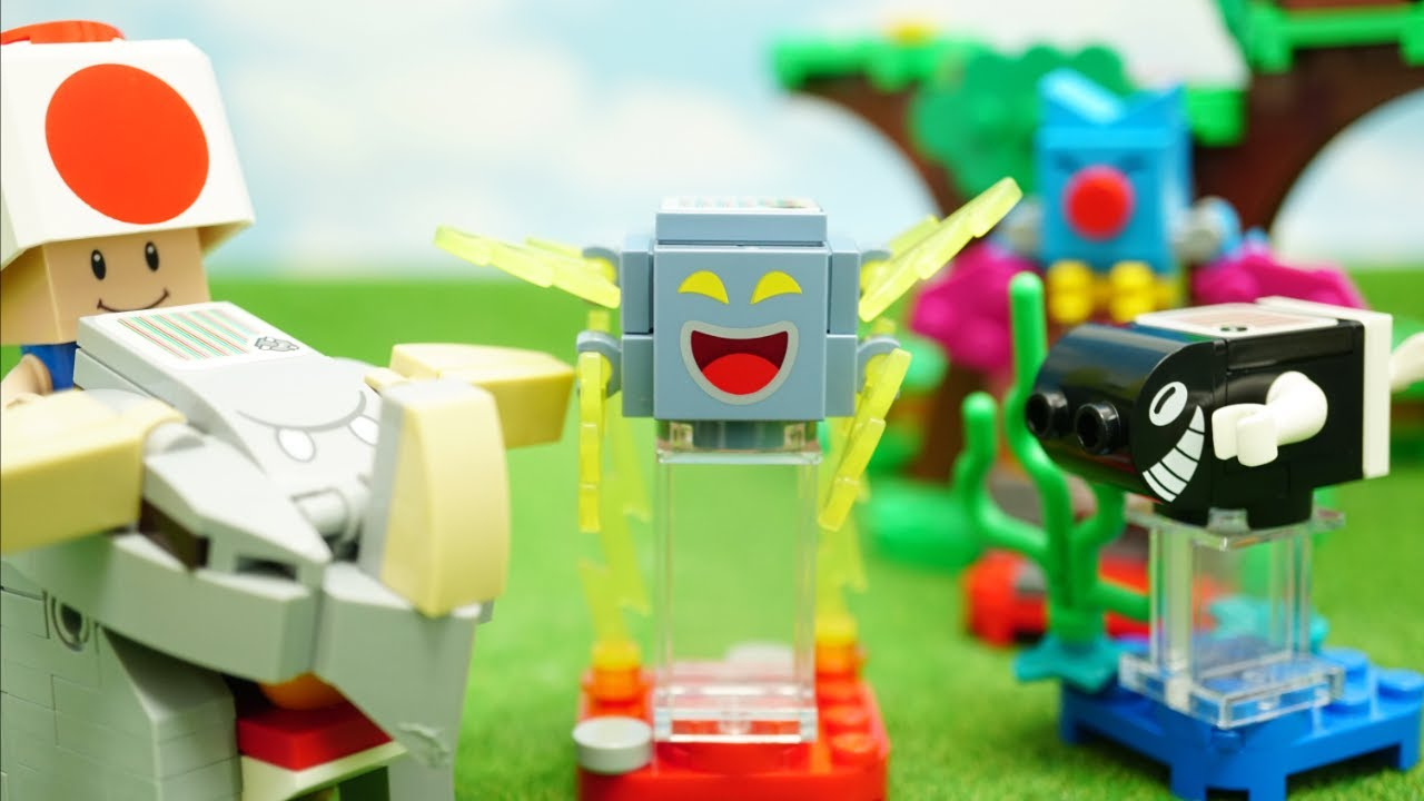 LEGO Super Mario|  Mario Character Packs 3  Unboxing| レゴ スーパーマリオ  | キャラクター パック 3 stop motion anime!