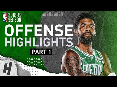 Kyrie Irving BEST Offense Highlights from 2018-19 NBA Season! NASTY Crossovers (Part 1)