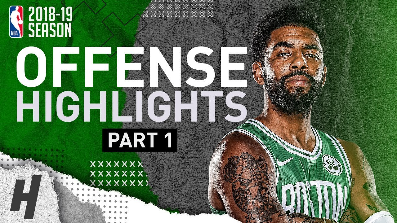 Kyrie Irving BEST Offense Highlights from 2018-19 NBA Season! NASTY  Crossovers (Part 1) 378706b6a