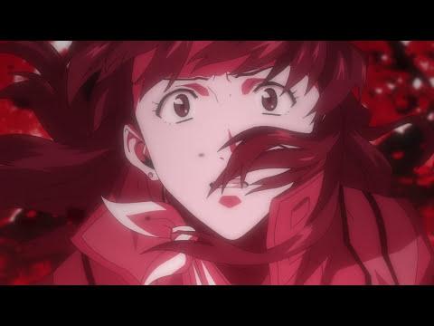 Evangelion 2 22    tsubasa wo kudasai scene