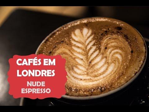 Cafés em Londres: Nude Espresso