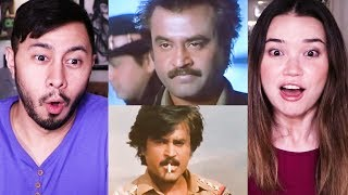 RAJINI CIGARETTE STYLE COMPILATION | Reaction!