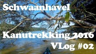 Kanutrekking - Mecklenburgische Seenplatte - September 2016: Schwaanhavel   VLog #02