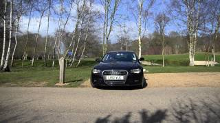 New Audi A4 2012: Video Test Drive