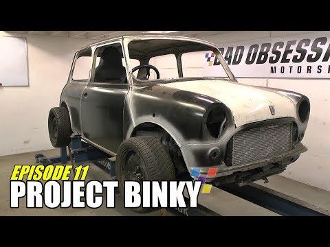 Project Binky - Episode 11 - Austin Mini GT-Four - Turbocharged 4WD Mini