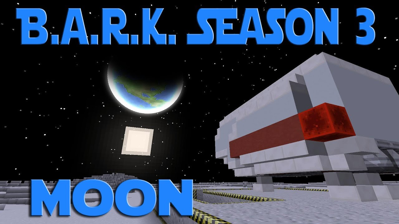 My 1000th Video - Modded Minecraft BARK S3 ep 20 - Advanced Rocketry Moon  Landing