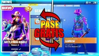GET THE BATTLE PASS **FREE** SEASON 6!! #TEMPORADA6#FORTNITE
