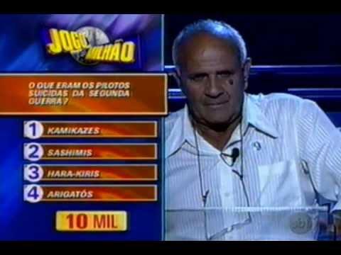 1º programa jogo do milhao (inedito) no youtube 1999 (original) estreia 07/11/99