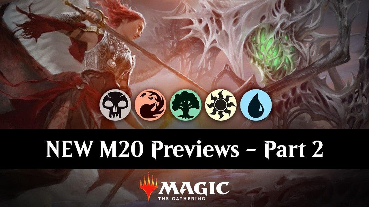 New M20 Previews Part 2 Three Color Mythic Rares Standard Mtg Arena Set Review