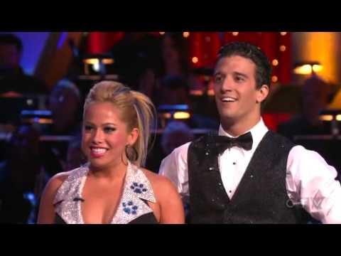 DWTS Sabrina Bryan & Mark Ballas Week 3