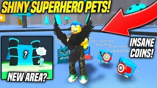 THE NEW SUPERHERO PETS IN MAGNET SIMULATOR ARE INSANELY OP!! (Roblox)