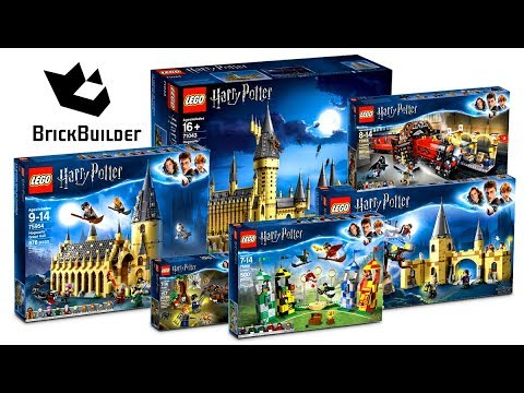 COMPILATION ALL LEGO Harry Potter 2018 - Speed Build