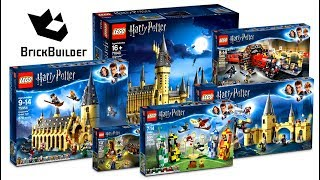 COMPILATION ALL LEGO Harry Potter 2018 - Lego Speed Build for Collectors