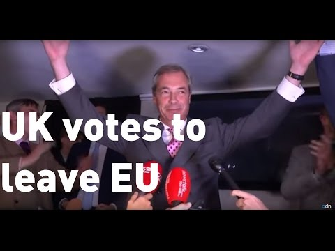Brexit result: Nigel Farage calls June 23 the UK