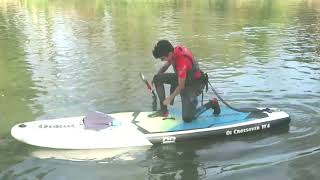 What to wear paddleboarding in coolish conditions