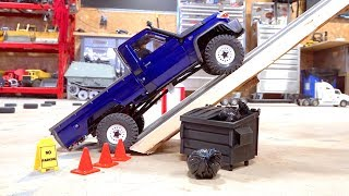 MAX Traction, Steep Incline Test - Toyota Land Cruiser LC70 UTE - BRX01 Boom Racing