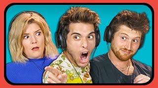 YOUTUBERS REACT TO TRY TO GUESS THE ENDING CHALLENGE