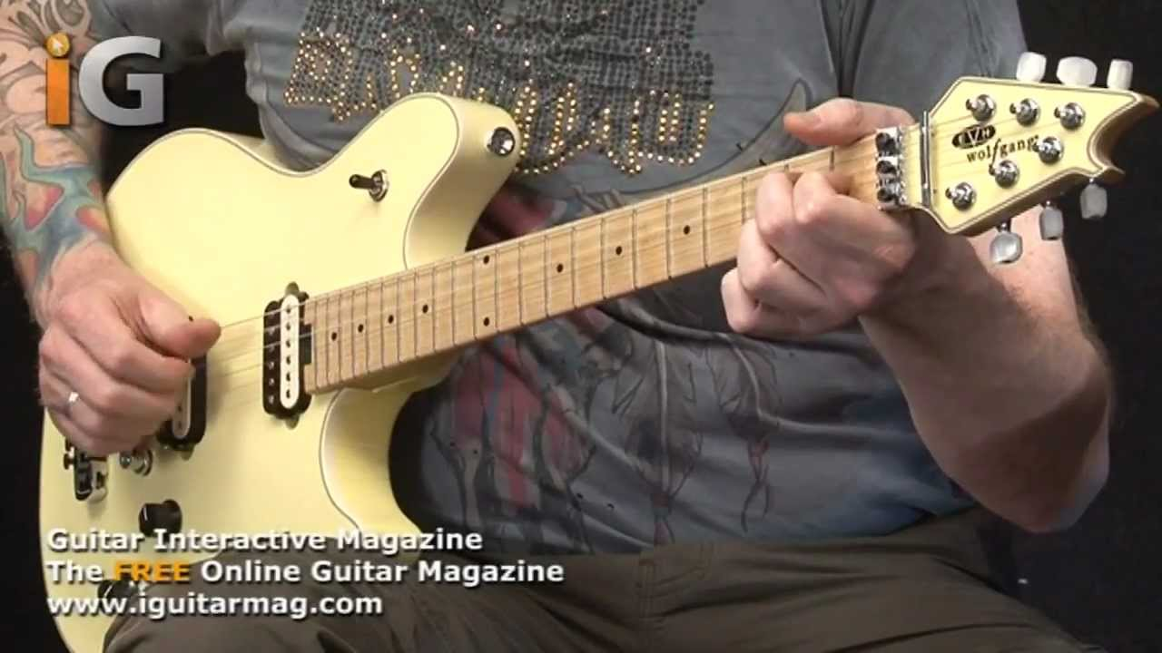 Eddie Van Halen Evh Wolfgang Usa Ht Guitar Review Youtube