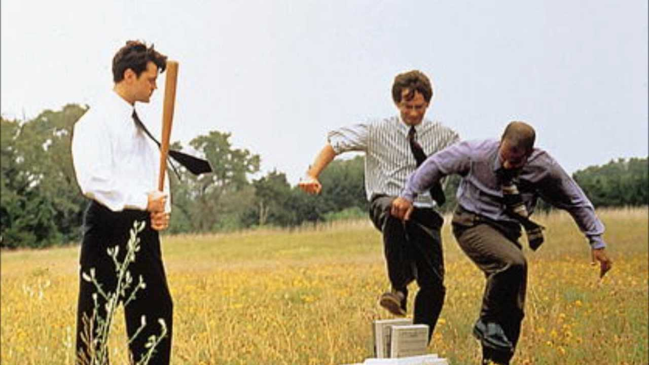 Office Space Printer Scene