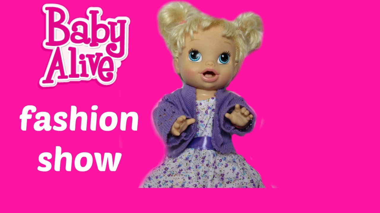Fashion Show My Baby All Gone Baby Doll clothes from Toys