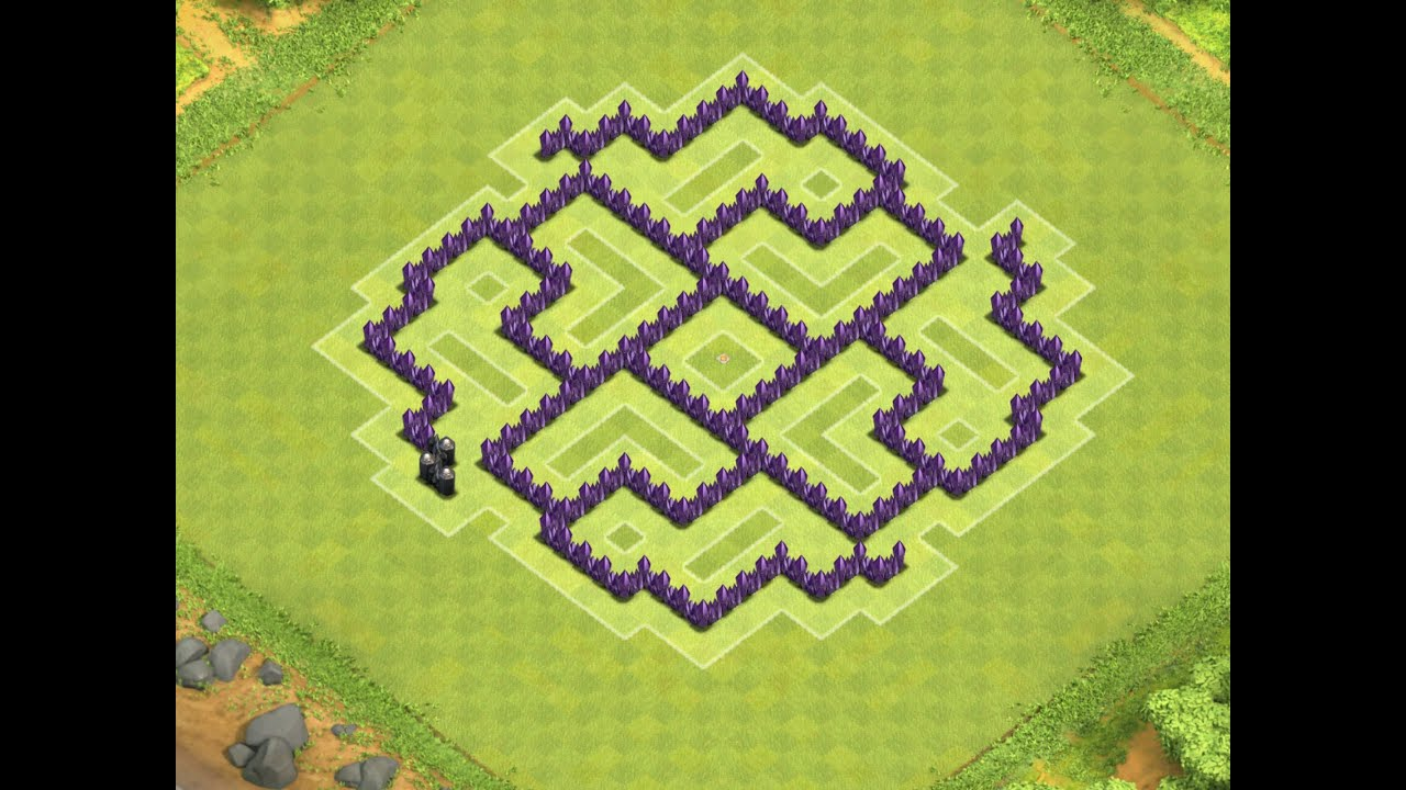 Clash Of Clans | Best Town Hall 7 War Base ( th7 ) Speed build ...
