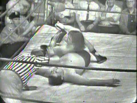CHIEF BIG HEART vs TONY NEWBERRY 1966 Wrestling