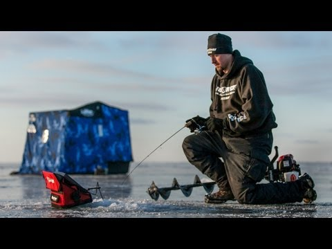 Early Ice Upper Red Lake Walleyes --