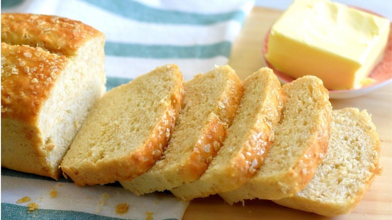 Oatmeal Bread Recipe :Healthy oatmeal honey bread in FIVE SIMPLE STEPS