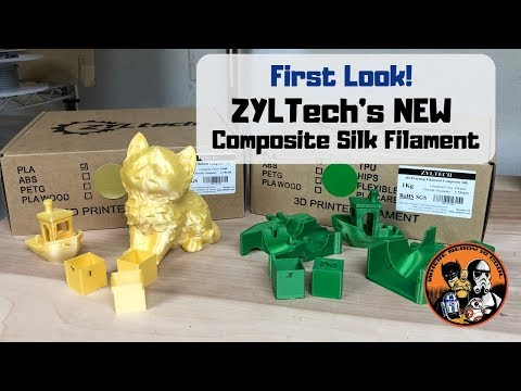First Look at ZYLTech's Composite Silk Filament! - YouTube