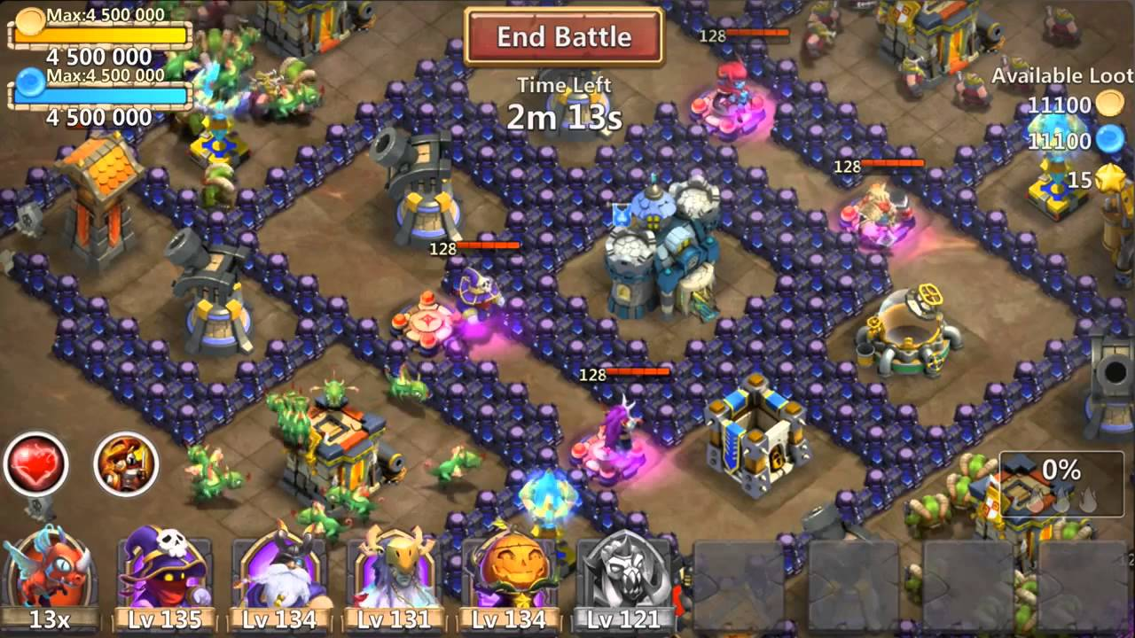 castle clash 1.2.66 mod apk (unlimited everything)
