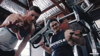 WBFF Australia 2016 VLOG Ep 3 - 4 Days Out Chest and Triceps with Matt Bartholomew